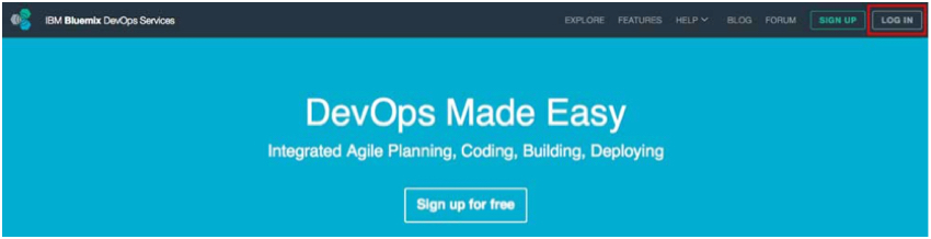 IBM BlueMix and DevOps - DevOps Home Page