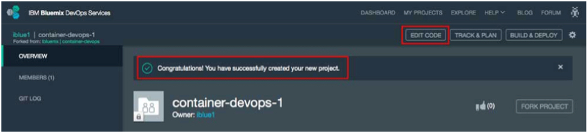 IBM BlueMix and DevOps - Your copy of container-devops