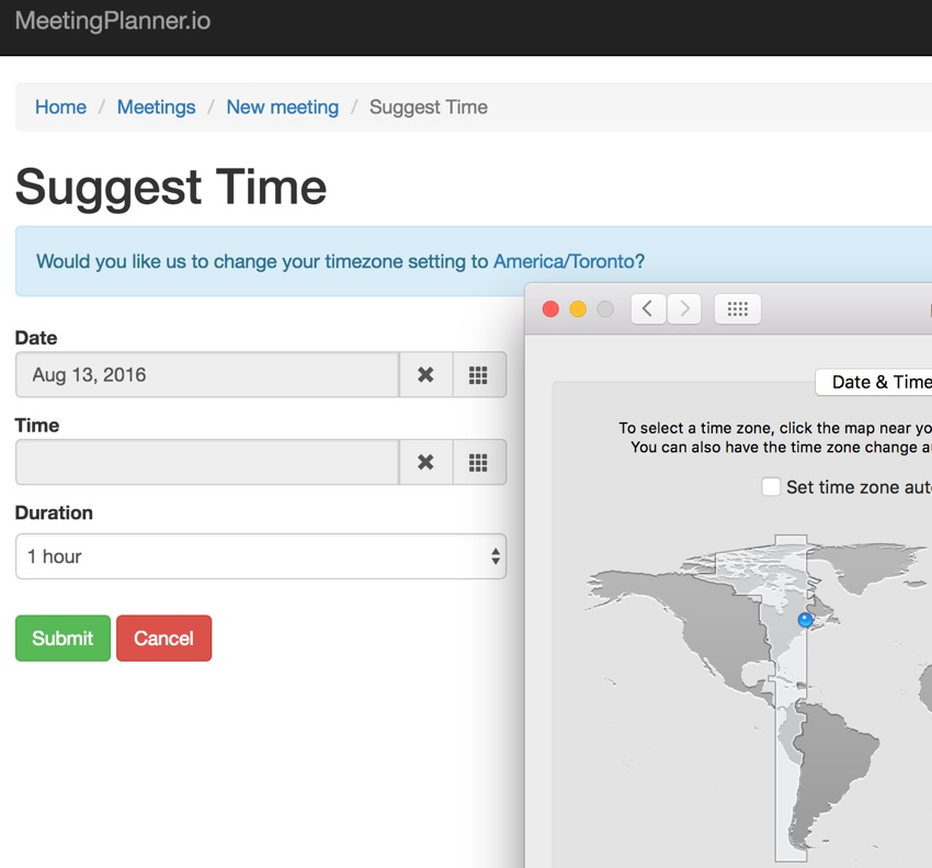 Building Your Startup Timezone Detection - Popup to Change your Timezone
