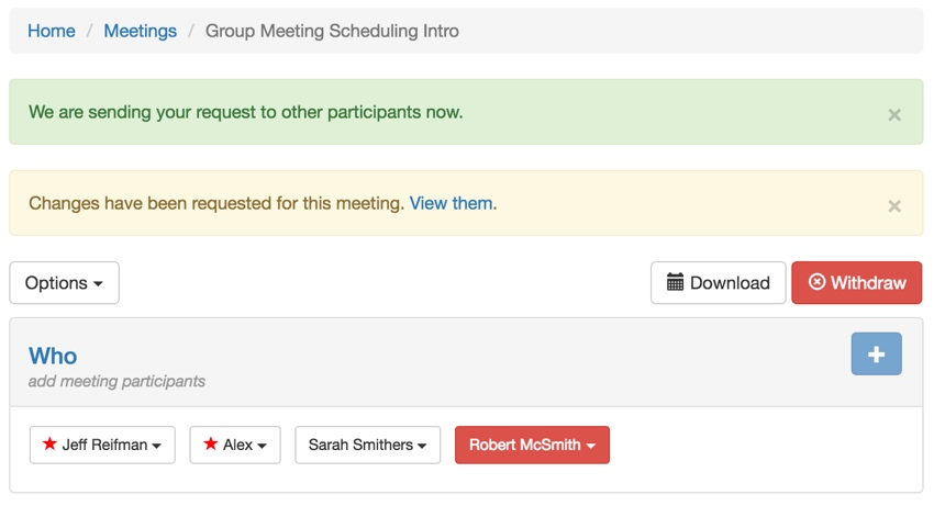 Building Your Startup: Completing Group Scheduling