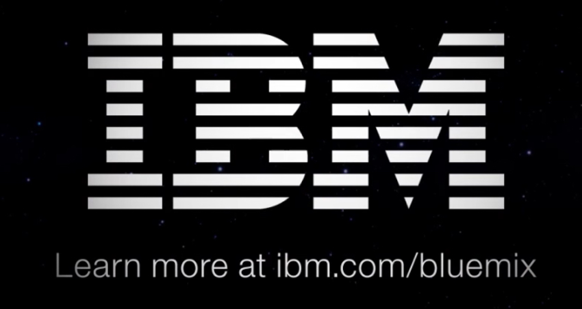 IBM Bluemix IoT Arm Gestures - IBM Logo and Bluemix Link