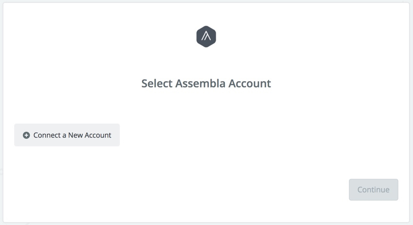 Assembla Zapier Automated Workflow - Connect Assembla Account
