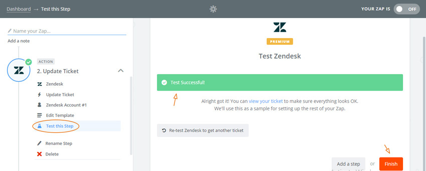 Assembla Zapier Automated Workflow -