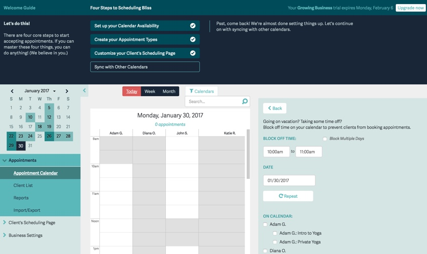 Acuity Scheduling's Developer-Friendly Scheduling Service