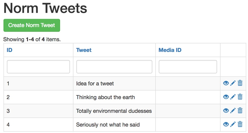 Repeating Twitter API - The Authoring Tweets UX
