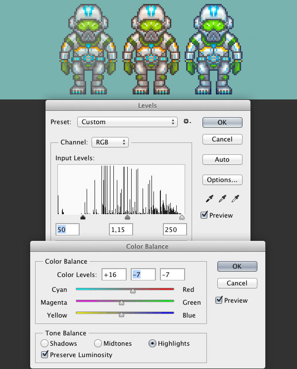 How to Create an Animated Pixel Art Sprite in Adobe Photoshop