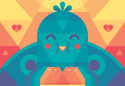Link toCreate a cute bird with geometric shapes in adobe illustrator