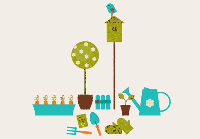 Preview for Create a Garden Scene with Basic Shapes in Adobe Illustrator