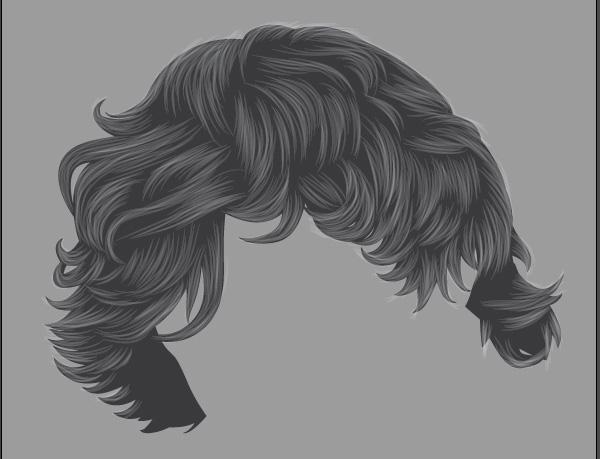 How To Render Short Detailed Hair In Adobe Illustrator