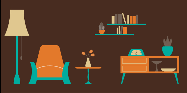 How to Create an Easy Living Room Scene in Illustrator