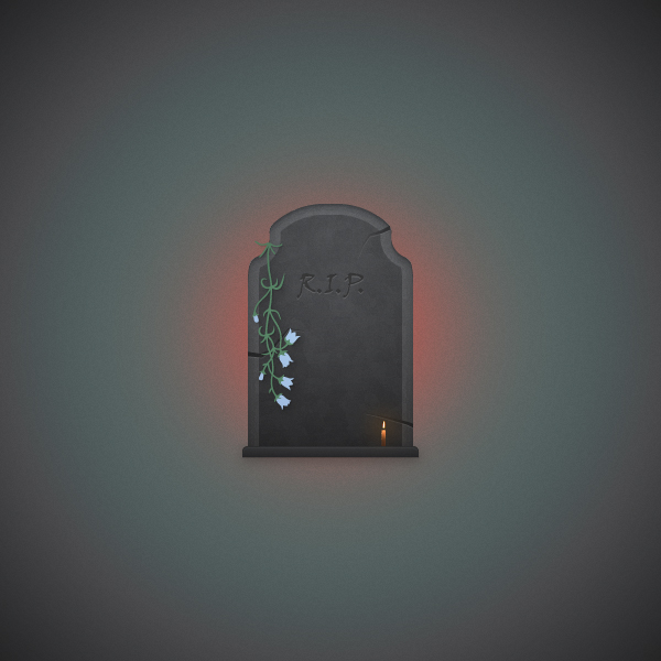 How to Create a Dark Gravestone Illustration in Adobe Illustrator