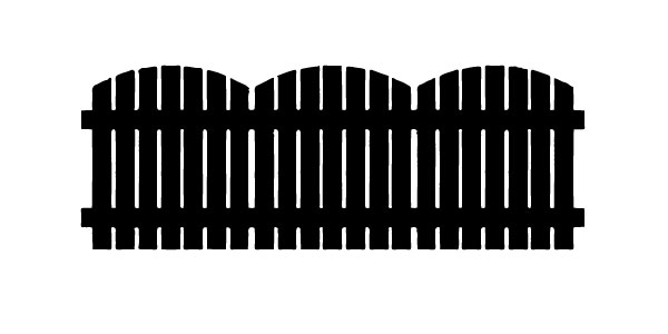 The fence created using Image Trace
