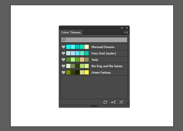 Download your palettes directly in Illustrator