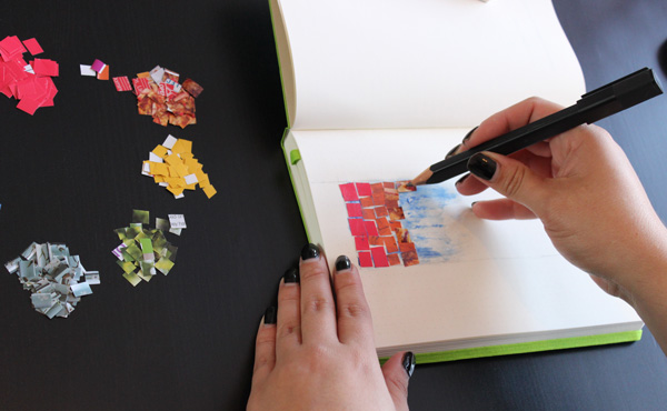 Adding tiles to the journal