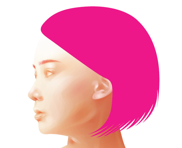 Creating the hair base