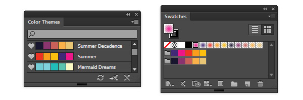 Download swatches from Adobe Color