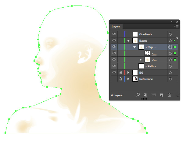 how to create an image mask in illustrator