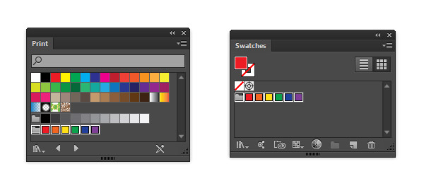 Adding the Brights to the Swatches panel
