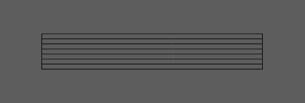 seven rows