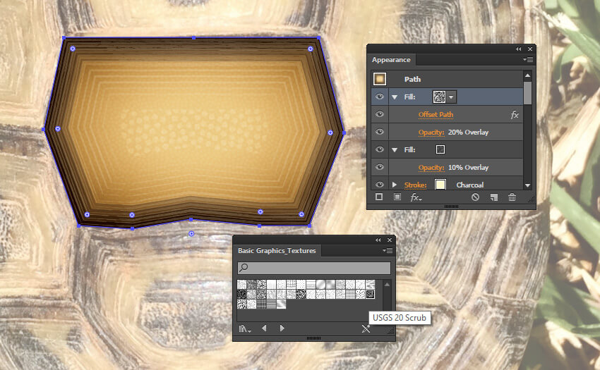 Adding texture