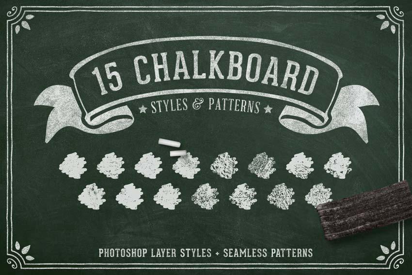 Chalk Effect Photoshop Layer Styles