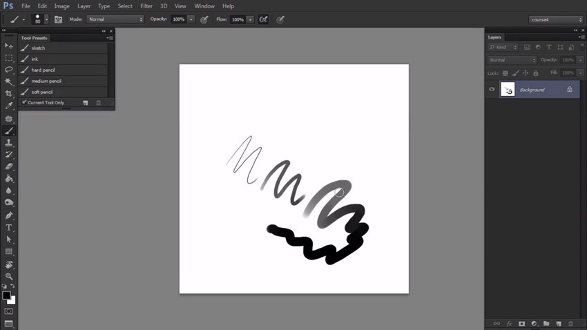 Brushes in Photoshop