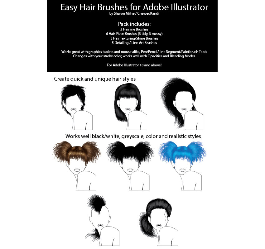 Easy Hair Brushes