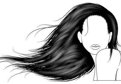 92c56b1be How to Vector Hair With Brushes in Adobe Illustrator
