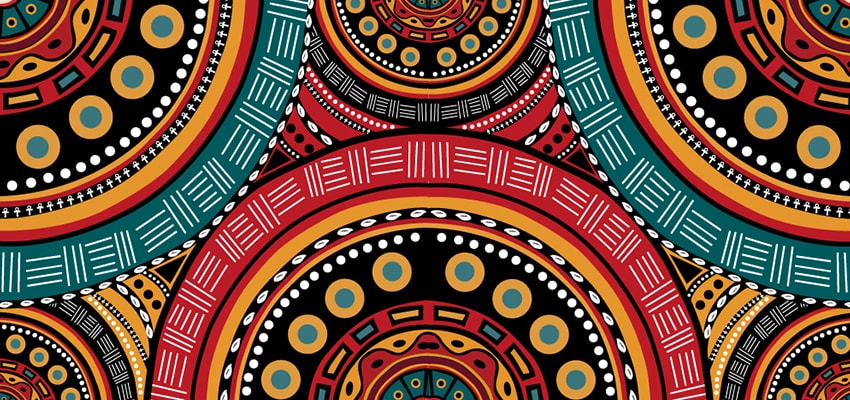 How To Create A Tribal African Inspired Pattern In Adobe Illustrator Custom African Patterns