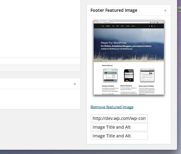 Saving Images with the WordPress Media Uploader