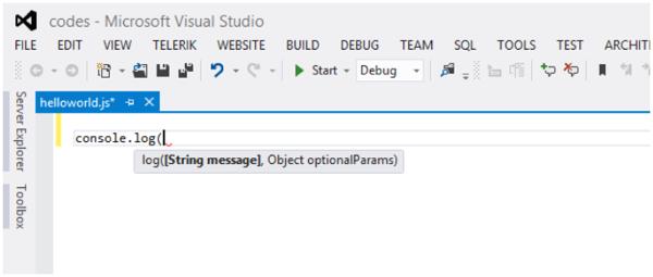 IntelliSense feature on Visual Studio 2012