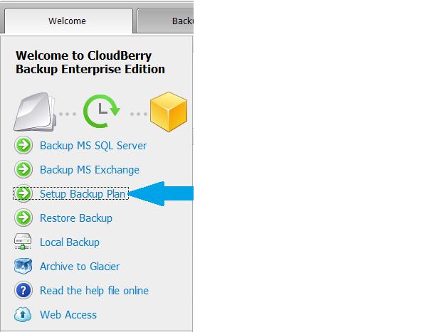 CloudBerry Backup Enterprise Edition