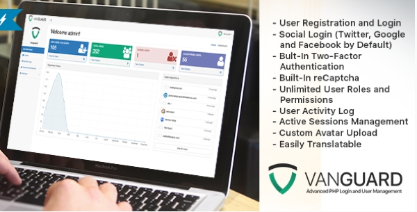 Vanguard - Login and User Management