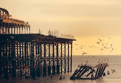 Rotten pier