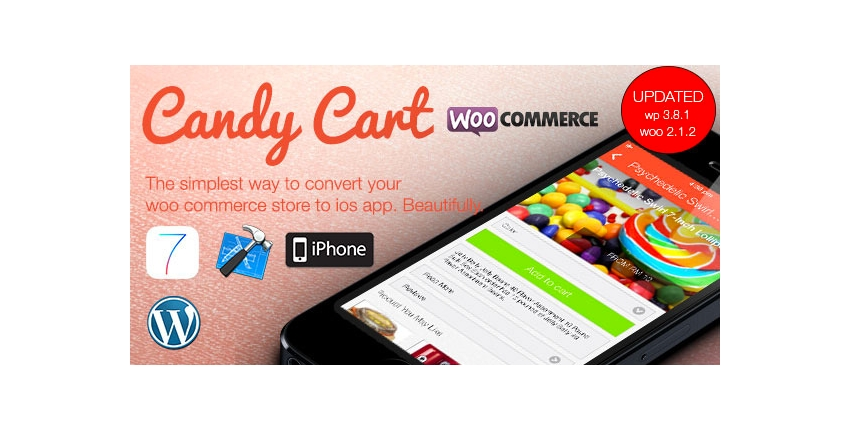 Candy Cart - WooCommerce For Native iOS