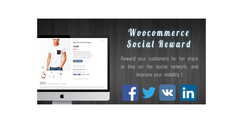 WooCommerce Social Reward