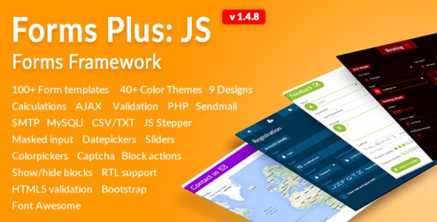 0 Forms Plus JS - Forms Framework