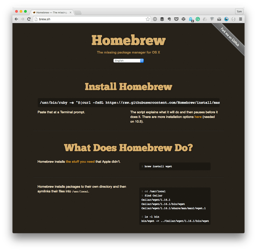 The Homebrew Homepage