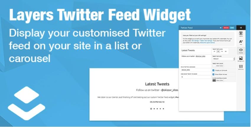 Layers Twitter Feed Widget