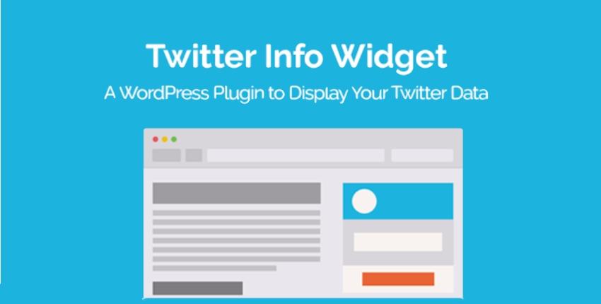 Twitter Info Widget