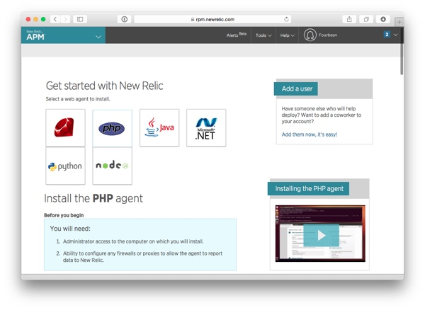 Get started with New Relic APM