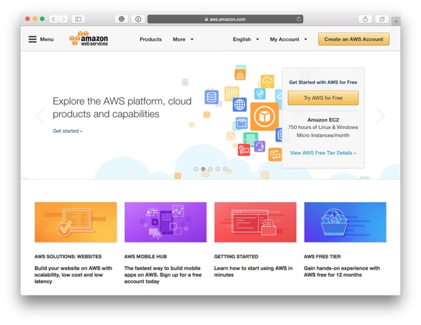Sign up for an AWS account