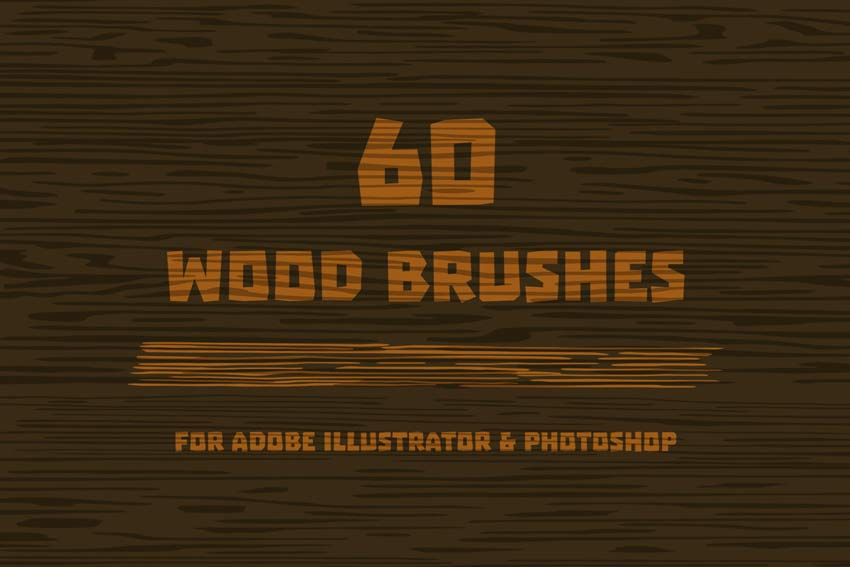 Wood Brushes for Adobe Illustrator