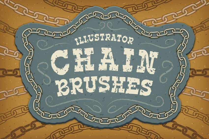 Illustrator Chain Brushes