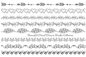 Cute Hand Drawn Style Border Collection