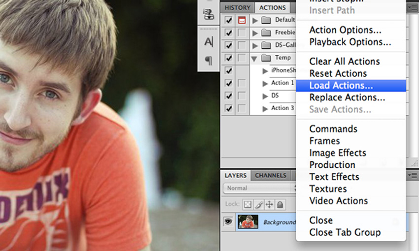 Download Action Photoshop