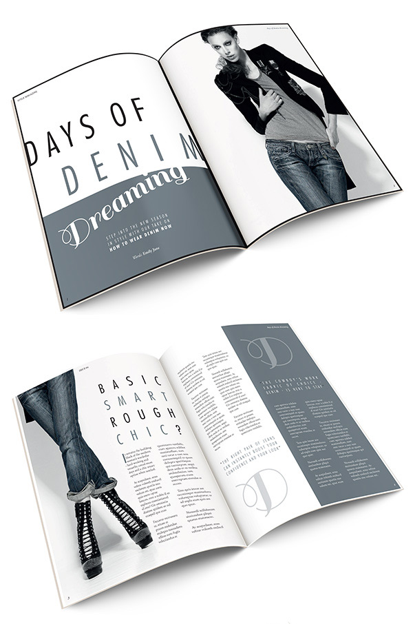 How to Create Layouts for a Fashion Magazine in Adobe InDesign