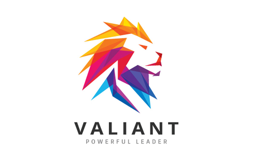Valiant Lion Logo