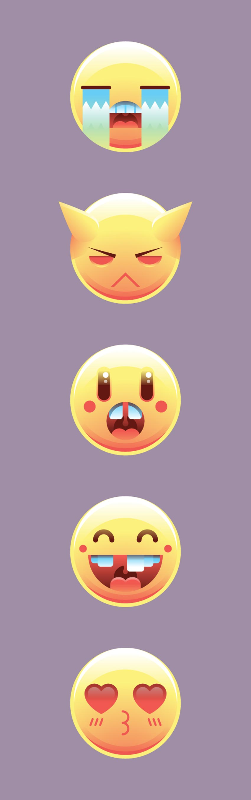 How to Create a Set of Emoticons in Adobe Illustrator