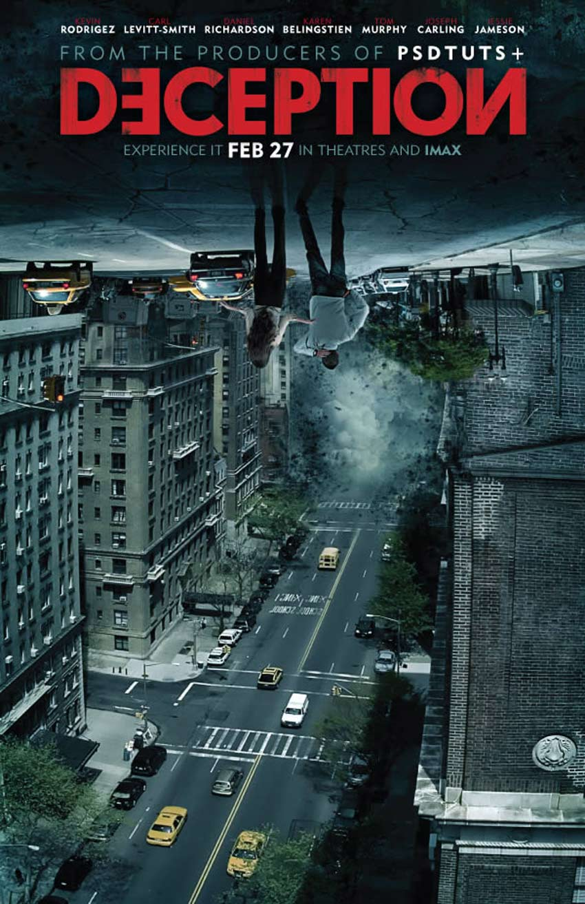 Inception Movie Poster Alternate Version Photoshop Tutorial